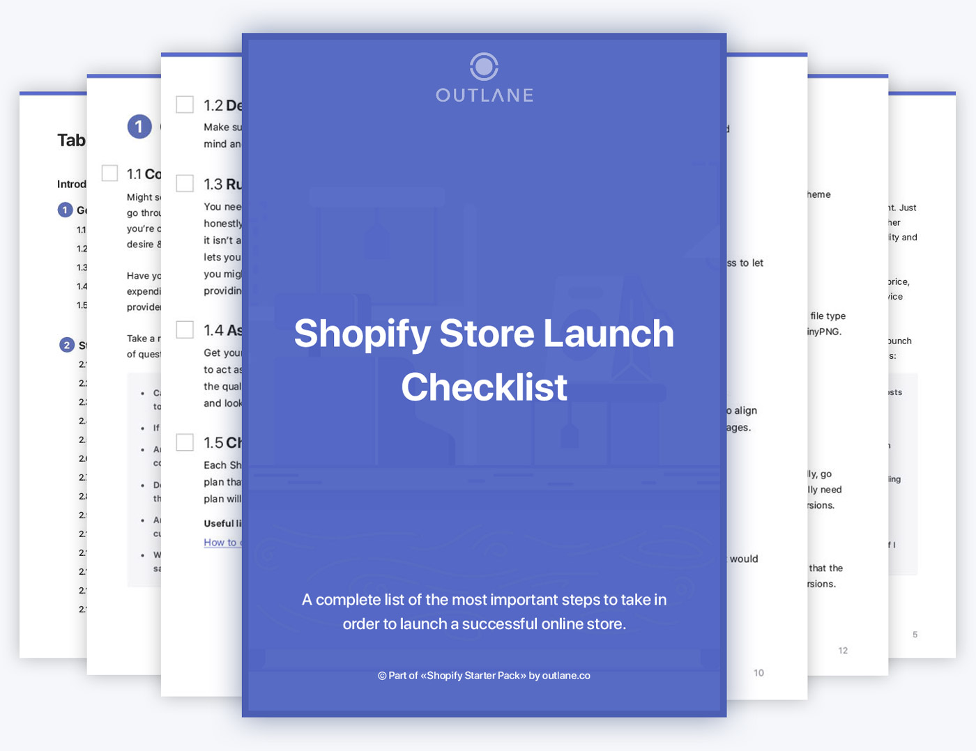 Shopify launch checklist
